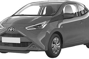 Toyota Aygo 6/18- (B40)
